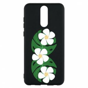 Phone case for Huawei Mate 10 Lite Monstera with flowers - PrintSalon