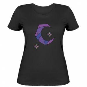 Koszulka damska Księżyc i gwiazdy
