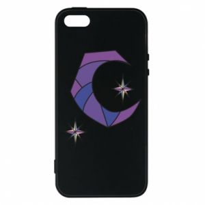 Etui na iPhone 5/5S/SE Moon and stars