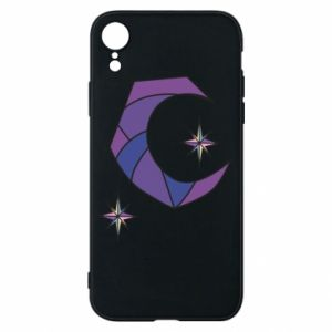 Etui na iPhone XR Moon and stars
