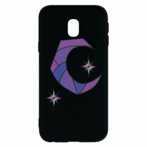 Etui na Samsung J3 2017 Moon and stars