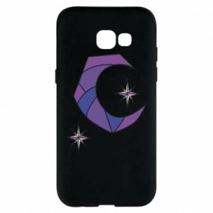 Etui na Samsung A5 2017 Moon and stars