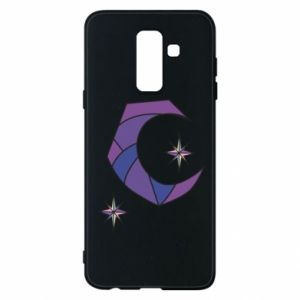 Etui na Samsung A6+ 2018 Moon and stars