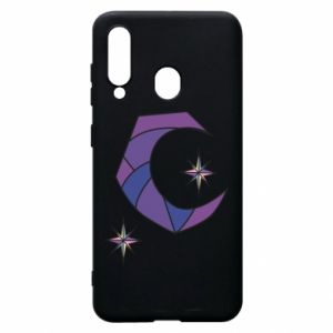Etui na Samsung A60 Moon and stars