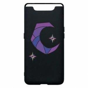 Etui na Samsung A80 Moon and stars
