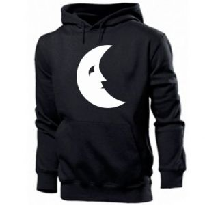 Bluza z kapturem męska Moon for the sun