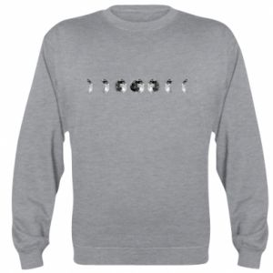 Sweatshirt Moon phases - PrintSalon
