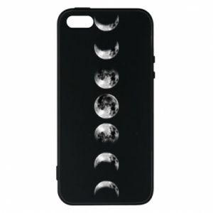Phone case for iPhone 5/5S/SE Moon phases