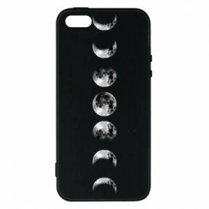 Phone case for iPhone 5/5S/SE Moon phases - PrintSalon
