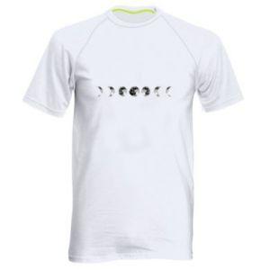 Koszulka sportowa męska Moon phases