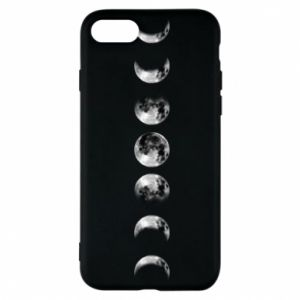Phone case for iPhone 8 Moon phases