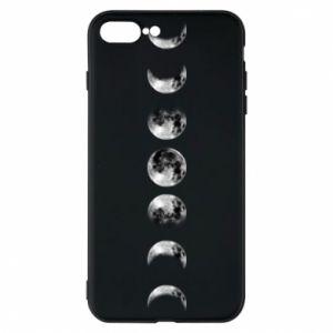 Phone case for iPhone 8 Plus Moon phases - PrintSalon