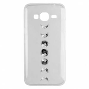 Phone case for Samsung J3 2016 Moon phases