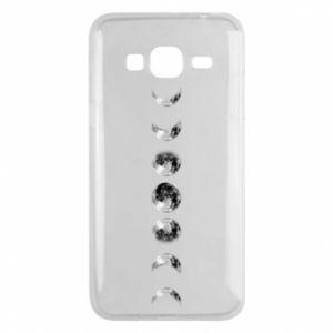 Phone case for Samsung J3 2016 Moon phases - PrintSalon