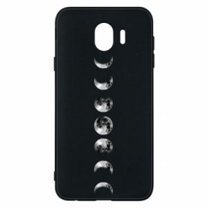 Phone case for Samsung J4 Moon phases