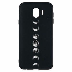 Phone case for Samsung J4 Moon phases - PrintSalon