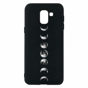 Phone case for Samsung J6 Moon phases - PrintSalon