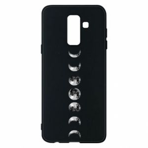 Phone case for Samsung A6+ 2018 Moon phases - PrintSalon