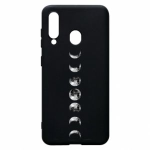 Phone case for Samsung A60 Moon phases - PrintSalon