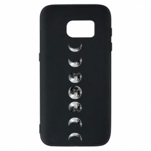 Phone case for Samsung S7 Moon phases