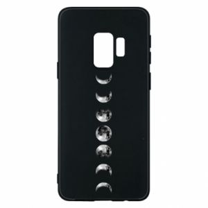 Phone case for Samsung S9 Moon phases