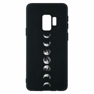 Phone case for Samsung S9 Moon phases - PrintSalon