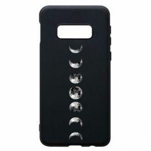 Phone case for Samsung S10e Moon phases - PrintSalon