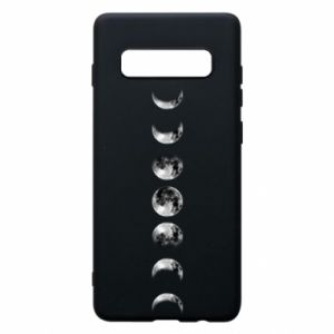 Phone case for Samsung S10+ Moon phases - PrintSalon