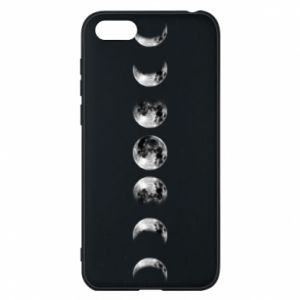 Phone case for Huawei Y5 2018 Moon phases - PrintSalon