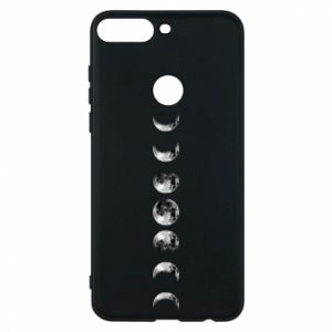 Phone case for Huawei Y7 Prime 2018 Moon phases - PrintSalon