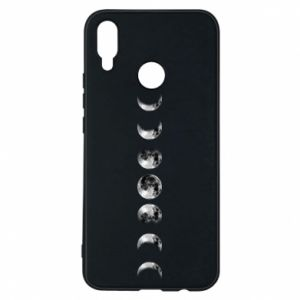 Phone case for Huawei P Smart Plus Moon phases