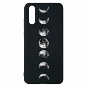 Phone case for Huawei P20 Moon phases - PrintSalon