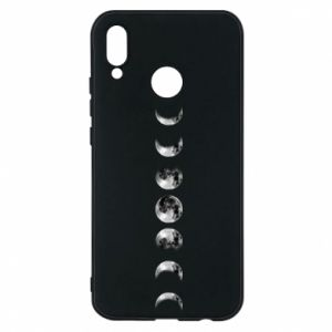 Phone case for Huawei P20 Lite Moon phases