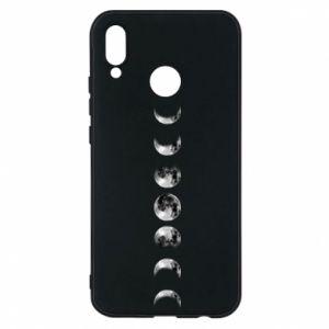 Phone case for Huawei P20 Lite Moon phases - PrintSalon