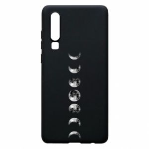 Phone case for Huawei P30 Moon phases - PrintSalon