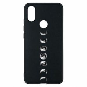 Phone case for Xiaomi Mi A2 Moon phases - PrintSalon