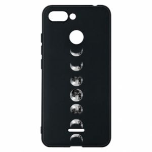 Phone case for Xiaomi Redmi 6 Moon phases - PrintSalon