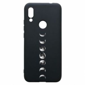Phone case for Xiaomi Redmi 7 Moon phases