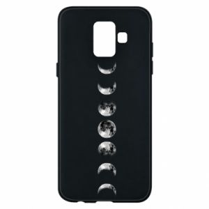 Phone case for Samsung A6 2018 Moon phases - PrintSalon