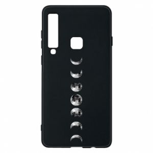 Phone case for Samsung A9 2018 Moon phases - PrintSalon
