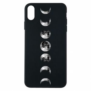 Phone case for iPhone Xs Max Moon phases