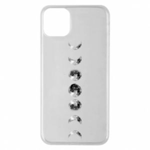 Phone case for iPhone 11 Pro Max Moon phases