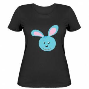 Damska koszulka Morda niebieskiego króliczka