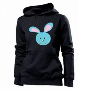 Bluza damska Morda niebieskiego króliczka
