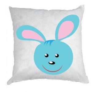 Poduszka Morda niebieskiego króliczka