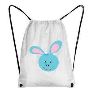 Plecak-worek Morda niebieskiego króliczka