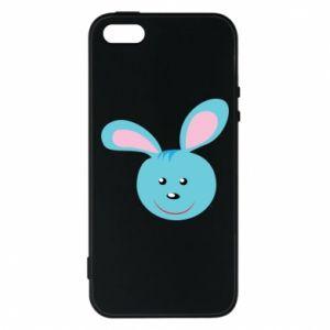 Etui na iPhone 5/5S/SE Morda niebieskiego króliczka
