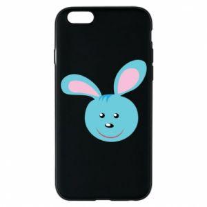 Etui na iPhone 6/6S Morda niebieskiego króliczka