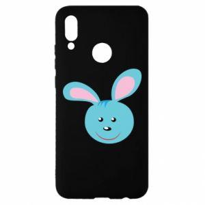 Etui na Huawei P Smart 2019 Morda niebieskiego króliczka