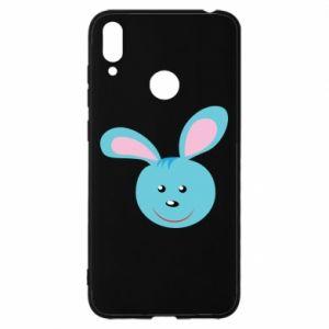 Etui na Huawei Y7 2019 Morda niebieskiego króliczka